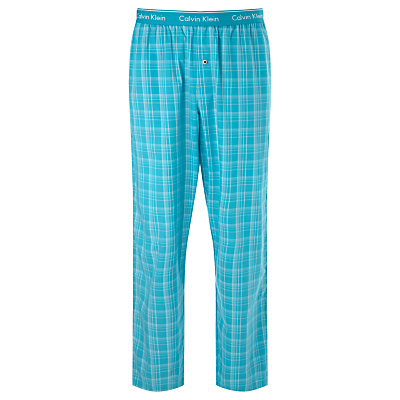 Calvin Klein Forest Check Pyjama Bottoms, Blue