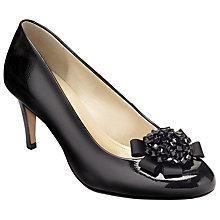 Buy John Lewis A Holt 2 Embellished Court Shoes, Black Patent Online at johnlewis.com