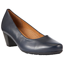 Buy Gabor Brambling Wide Fitting Leather Court Shoes Online at johnlewis.com
