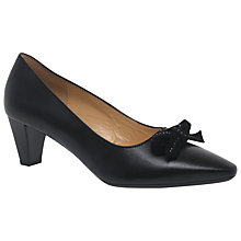 Buy Gabor Kintrye Leather Court Shoes Online at johnlewis.com