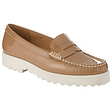 Buy John Lewis G Oslo 3 Slip On Platform Moccasins Online at johnlewis.com