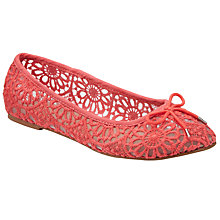 Buy John Lewis Lace Ballerina Pumps Online at johnlewis.com