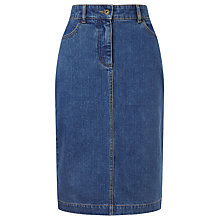 Buy John Lewis Denim Pencil Skirt Online at johnlewis.com