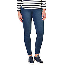 Buy Collection WEEKEND by John Lewis Lex Super Stretch Skinny Jeans, Mid Blue Online at johnlewis.com