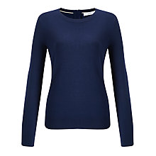 Buy John Lewis Zip Back Crew Neck Jumper Online at johnlewis.com