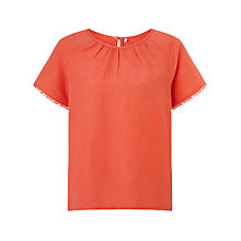Buy Collection WEEKEND by John Lewis Raglan Sleeve Tunic Top Online at johnlewis.com
