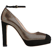 Buy L.K. Bennett Sally Platform Ankle Strap Court Shoes Online at johnlewis.com