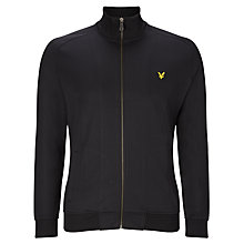 Buy Lyle & Scott Trico Jersey Jacket, True Black Online at johnlewis.com