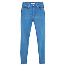 Buy Mango Super Slim Fit Andrea Jeans, Open Blue Online at johnlewis.com