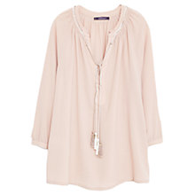 Buy Violeta by Mango Braided Cord Blouse Online at johnlewis.com