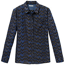 Buy Lee Ultimate Chevron Shirt, State Blue Online at johnlewis.com
