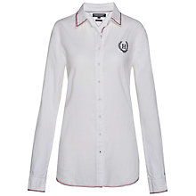 Buy Tommy Hilfiger Damira Heritage Shirt, Classic White Online at johnlewis.com