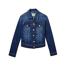 Buy Lee Slim Rider Denim Jacket, Night Sky Online at johnlewis.com
