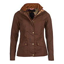 Buy Barbour Manderston Wax Jacket, Olive Online at johnlewis.com