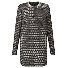 Buy Gerry Weber Aztec Jacket, Black/Ecru Online at johnlewis.com