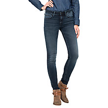 Buy Lee Skyler High Waist Skinny Jeans, Raven Blue Online at johnlewis.com