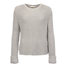 Buy Barbour Clove Hitch Jumper, Silver Ice Online at johnlewis.com