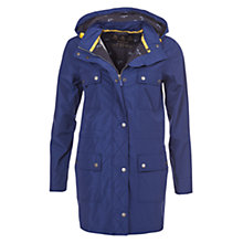 Buy Barbour Hackamore Jacket, Navy Online at johnlewis.com