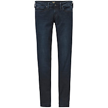 Buy Lee Scarlett Regular Waist Skinny Jeans, Raven Online at johnlewis.com