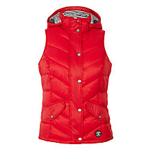 Buy Barbour Forland Quilted Gilet, Red Online at johnlewis.com