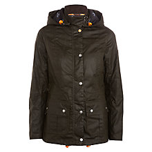 Buy Barbour Clove Hitch Wax Jacket, Olive Online at johnlewis.com