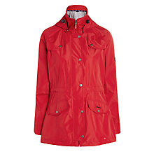 Buy Barbour Trevose Waterproof Jacket, Red Online at johnlewis.com