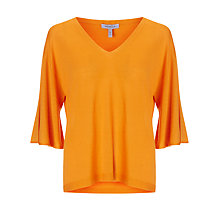 Buy Marella V-Neck Sweater, Orange Online at johnlewis.com
