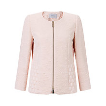 Buy Marella Textured Jacket, Pink Online at johnlewis.com