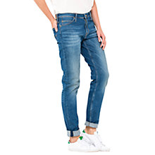 Buy Lee Sallie Slim Boyfriend Jeans, Authentic Blue Online at johnlewis.com
