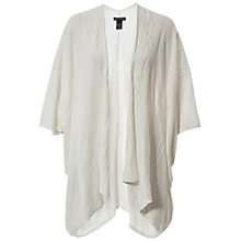 Buy Max Studio Cape-Style Cardigan, Ivory Online at johnlewis.com