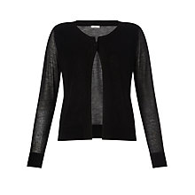 Buy Marella Long Sleeve Cardigan, Black Online at johnlewis.com