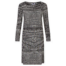Buy Marella Print Jersey Dress, Black Online at johnlewis.com