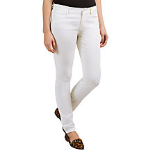 Buy Marella Skinny Jeans, White Online at johnlewis.com
