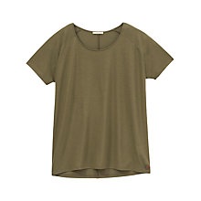 Buy Lee Oversized T-Shirt, Army Green Online at johnlewis.com
