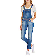 Buy Lee Bib Logger Dungarees, Authentic Blue Online at johnlewis.com