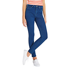 Buy Lee Skyler High Waist Skinny Jeans, Aquamarine Online at johnlewis.com
