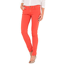 Buy Lee Scarlett Regular Waist Skinny Jeans, Paprika Online at johnlewis.com