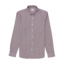 Buy Reiss Geometric Print Shirt, Bordeaux Online at johnlewis.com