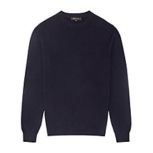 Buy Reiss Hampton Cashmere Jumper, Navy Online at johnlewis.com