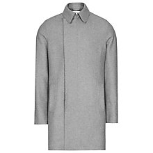 Buy Reiss Retrograde Wool Blend Overcoat, Grey Online at johnlewis.com