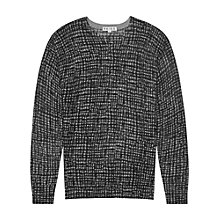 Buy Reiss Owen Wool Jumper, Charcoal Online at johnlewis.com