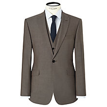 Buy Kin by John Lewis Kroft Plainweave Slim Fit Suit Jacket, Biscuit Online at johnlewis.com