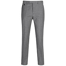 Buy Ted Baker Tench Check Tailored Fit Suit Trousers, Grey Online at johnlewis.com
