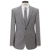 Buy Kin by John Lewis Tresco Lux Pique Slim Fit Suit Jacket, Grey Online at johnlewis.com