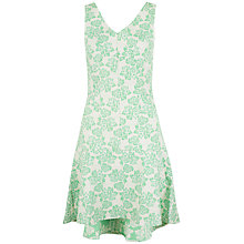 Buy Almari Floral Jacquard Dress, Green Online at johnlewis.com