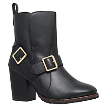 Buy Kurt Geiger Aveland Block Heeled Ankle Boots Online at johnlewis.com