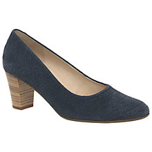 Buy Gabor Kimberley Wide Fitting Block Heeled Court Shoes Online at johnlewis.com