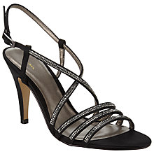 Buy John Lewis Diamond Kitten Heeled Occasion Sandals Online at johnlewis.com