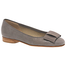 Buy Gabor Assist Leather Ballerina Shoes Online at johnlewis.com