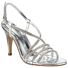 Buy John Lewis Diamond Stiletto Heeled Occasion Sandals Online at johnlewis.com